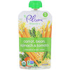 Plum Organics, Organic Baby Food, Stage 2, Carrot, Bean, Spinach & Tomato, 3.5 oz (99 g)
