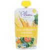Plum Organics, Organic Baby Food, Stage 2, Kale, Corn, Carrot & Tomato, 3.5 oz (99 g)