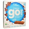 Plum Organics, Organic Go Bar, Chocolate Brownie, 6 Bars, 1.27 oz (36 g) Each (Discontinued Item)
