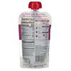 Plum Organics, Tots, Mighty 4, 4 Food Group Blend, Pear, Cherry, Blackberry, Strawberry, Black Bean, Spinach, Oat, 4 oz (113 g)