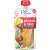 Plum Organics, Mighty Protein & Fiber, Banana, White Bean, Strawberry, Chia, Tots, 4 oz (113 g)