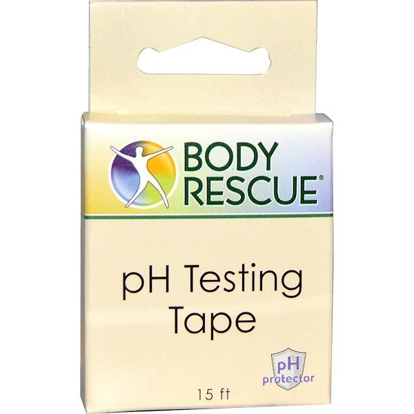 Peelu, Body Rescue, PH Testing Tape, 15 ft (Discontinued Item)