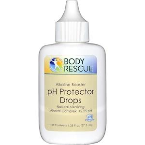 Peelu, Body Rescue, капли для сохранения баланса pH, 1,25 жидкой унции (37,5 мл)