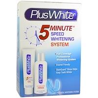 Plus White, 5 Minute Premier Whitening System, 3개 화이트닝 키트