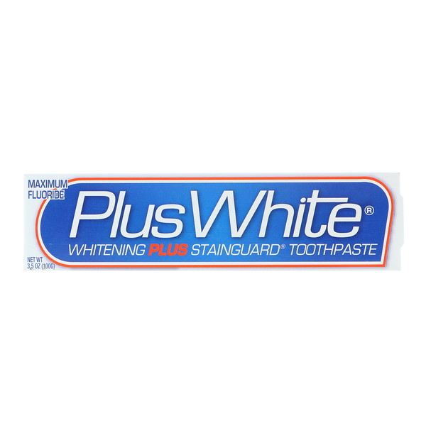 Plus White, Whitening Plus Stainguard Toothpaste, 3.5 oz (100 g) (Discontinued Item)