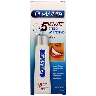 Plus White, 5 Minute Speed Whitening Gel, 2.0 oz (56 g)