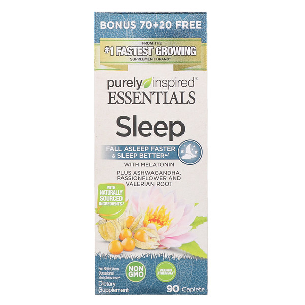 Purely Inspired, Essentials Sleep, 90 Caplets