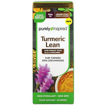 Purely Inspired Turmeric Lean, 60 Capsules