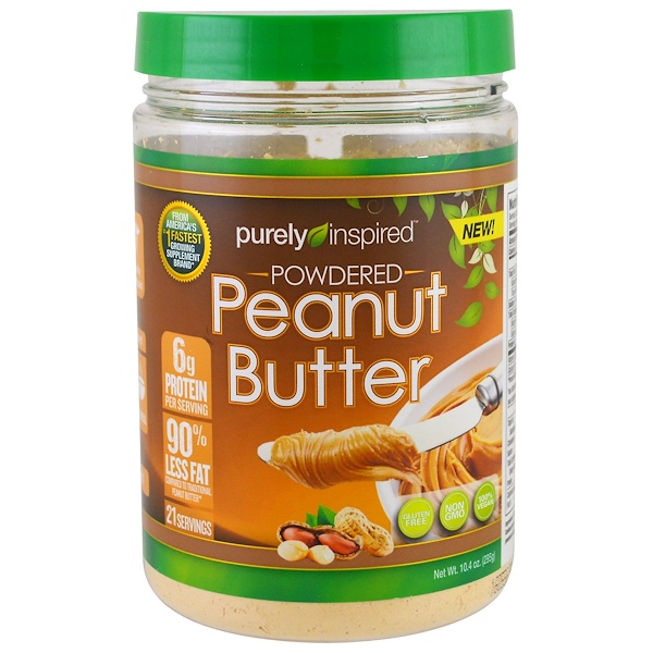 Purely Inspired, Powdered Peanut Butter, 10、4 oz (295 g)