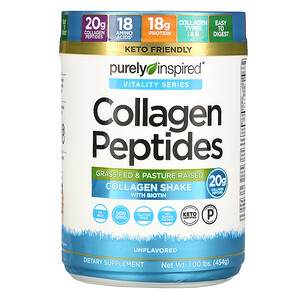 Пурели Инспиред, Collagen Peptides, Unflavored, 1.00 lb (454 g) отзывы покупателей