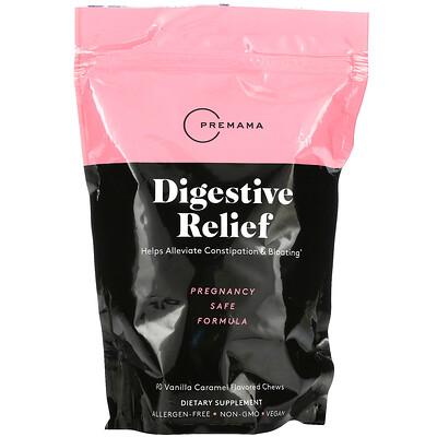 Купить Premama Digestive Relief, Vanilla Caramel Flavored, 90 Chews