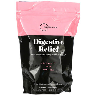 Premama, Digestive Relief, Vanilla Caramel, 90 Chews