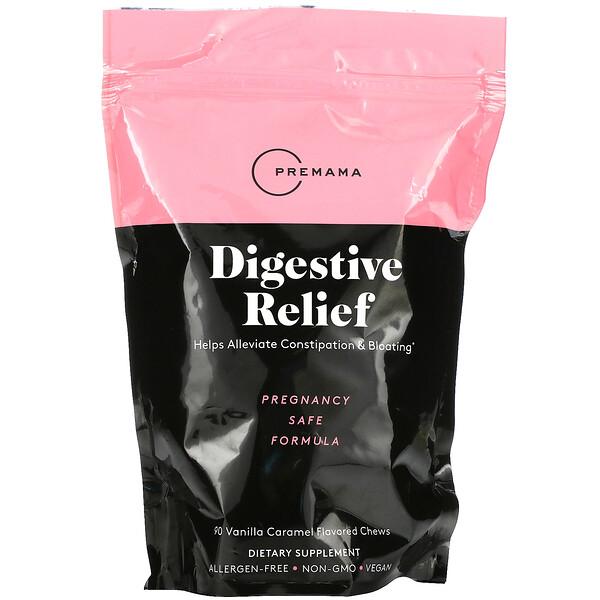Digestive Relief, Vanilla Caramel, 90 Chews