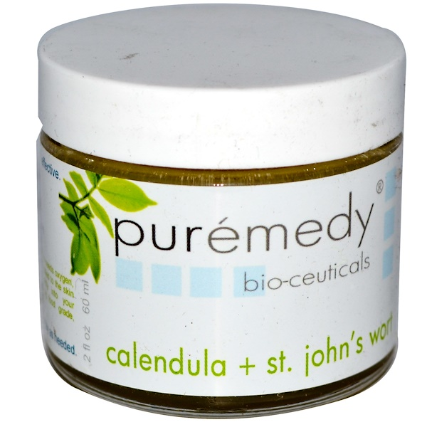 Puremedy, Bio-Ceuticals, Calendula + St. Johns Wort, 2 fl oz (60 ml) (Discontinued Item)