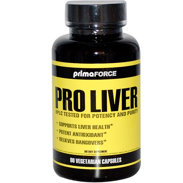 Primaforce, Pro Liver, 90 Veggie Caps (Discontinued Item)