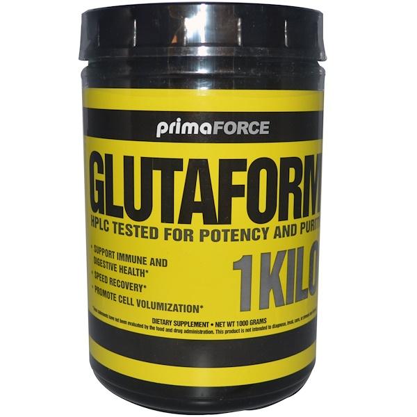Primaforce, Glutaform, 1 Kilo (1000 g) (Discontinued Item)