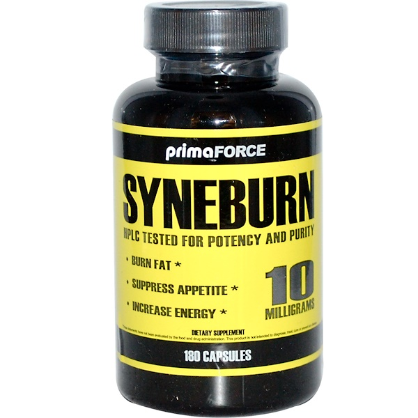 Primaforce, Syneburn, 10 mg, 180 Capsules (Discontinued Item)