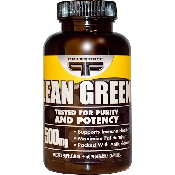 Primaforce, Lean Green, 500 mg, 60 Veggie Caps (Discontinued Item)