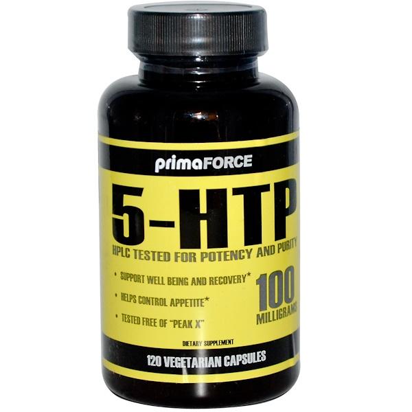 Primaforce, 5-HTP, 100 mg, 120 Veggie Caps (Discontinued Item)