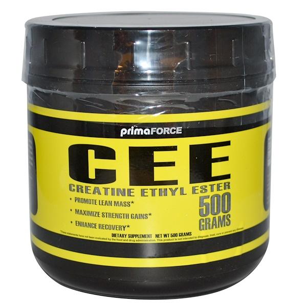 Primaforce, CEE, Creatine Ethyl Ester, 500 g (Discontinued Item)
