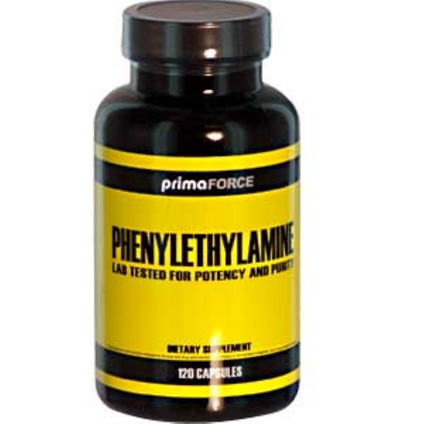 Primaforce, Phenylethylamine, 500 mg, 120 Capsules (Discontinued Item)