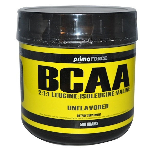 Primaforce, BCAA, Unflavored, 500 g (Discontinued Item)