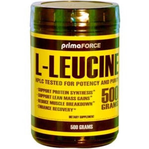 Primaforce, L-Leucine, 500 g (Discontinued Item)