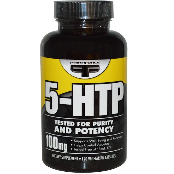 Primaforce, 5-HTP, 100 mg, 120 Veggie Caps (Discontinued Item)