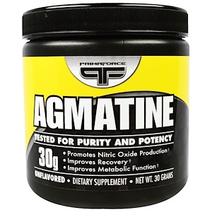 Примафорсе, Agmatine, Unflavored , 30 g отзывы