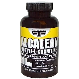 Primaforce, 알카린, 아세틸-L-카르니틴, 500 밀리그램, 100 베지캡슐