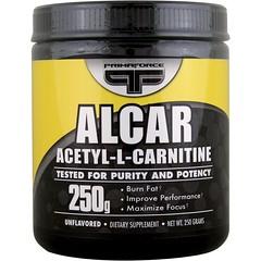 Primaforce, Alcar, Acetyl-L-Carnitine, Unflavored, Powder, 250 g