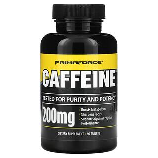 Primaforce, Кофеин, 200 мг, 90 таблеток