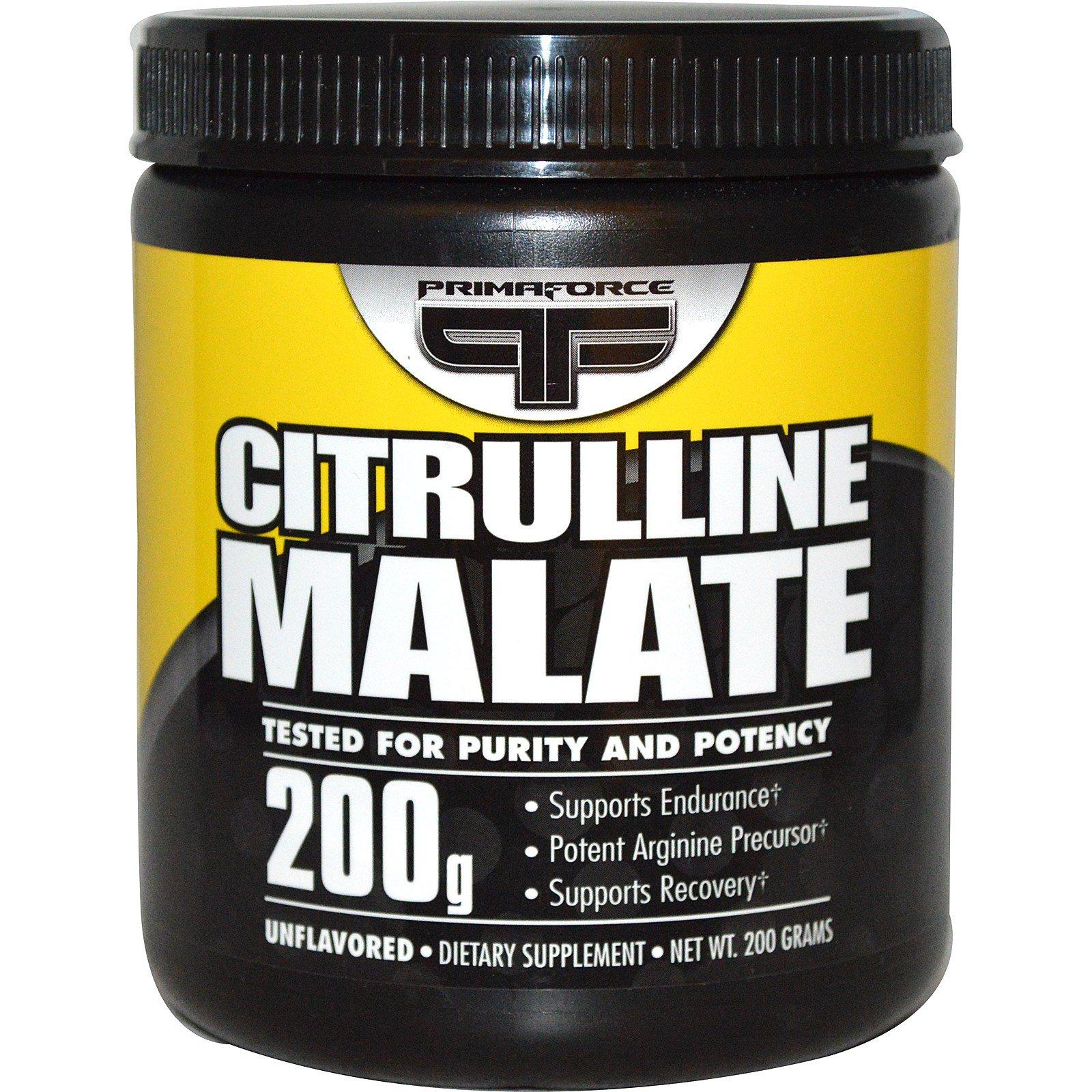 Primaforce, Citrulline Malate, Unflavored, 200 g