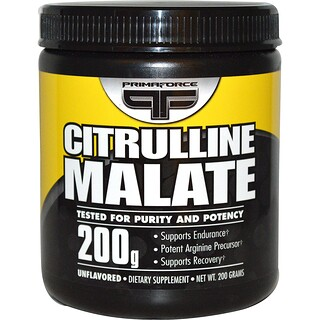 Primaforce, Citrulline Malate, sans parfum, 200 g