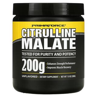Primaforce, Citrulline Malate, Unflavored, 7.0 oz (200 g)