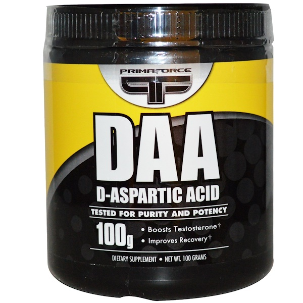 Primaforce, DAA, D-Aspartic Acid, 100 g (Discontinued Item)