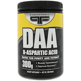 Primaforce, DAA-D-Aspartic Acid, 300 g