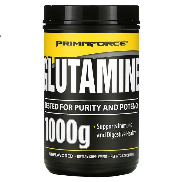 Glutamine, Unflavored, 35.2 oz (1000 g)