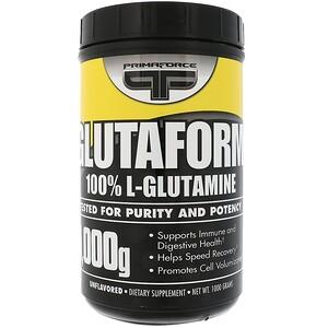 Примафорсе, Glutaform, 100% L-Glutamine, Unflavored, 1000 g отзывы