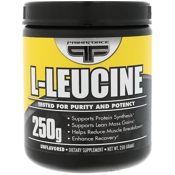 Primaforce, L-亮氨酸,無味,250克