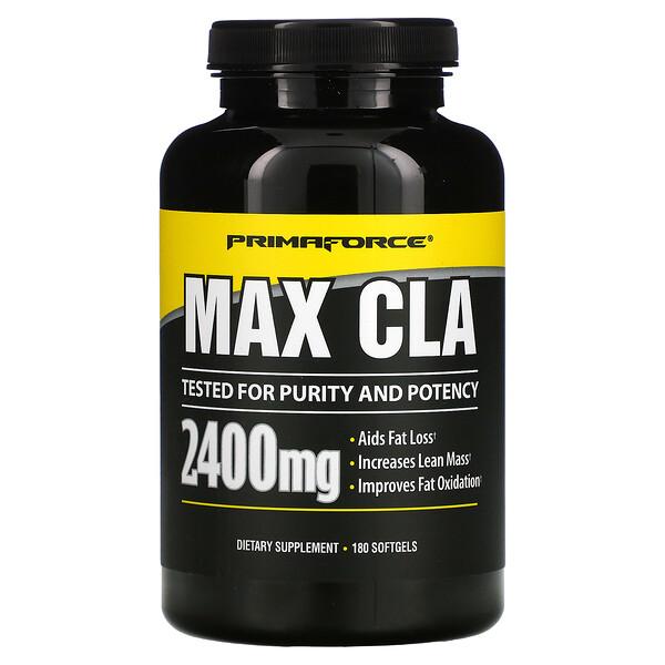 Max CLA, 800 mg, 180 Softgels