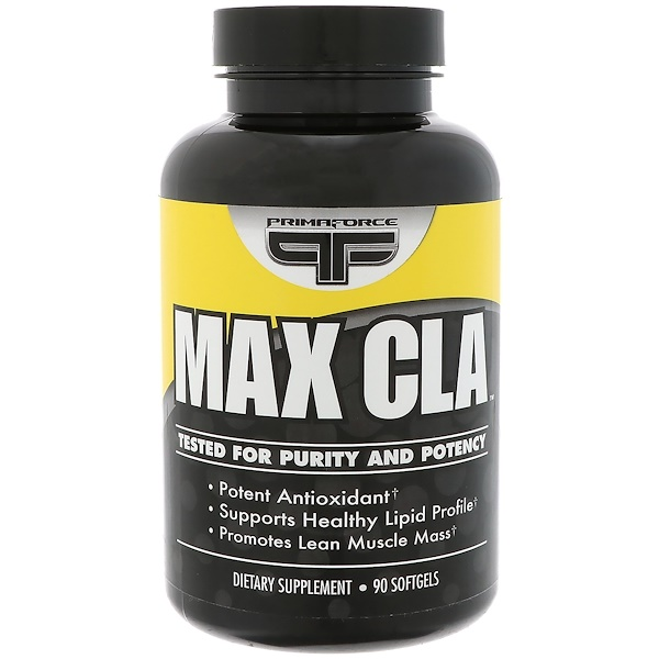 Primaforce, Max CLA,  90 softgels