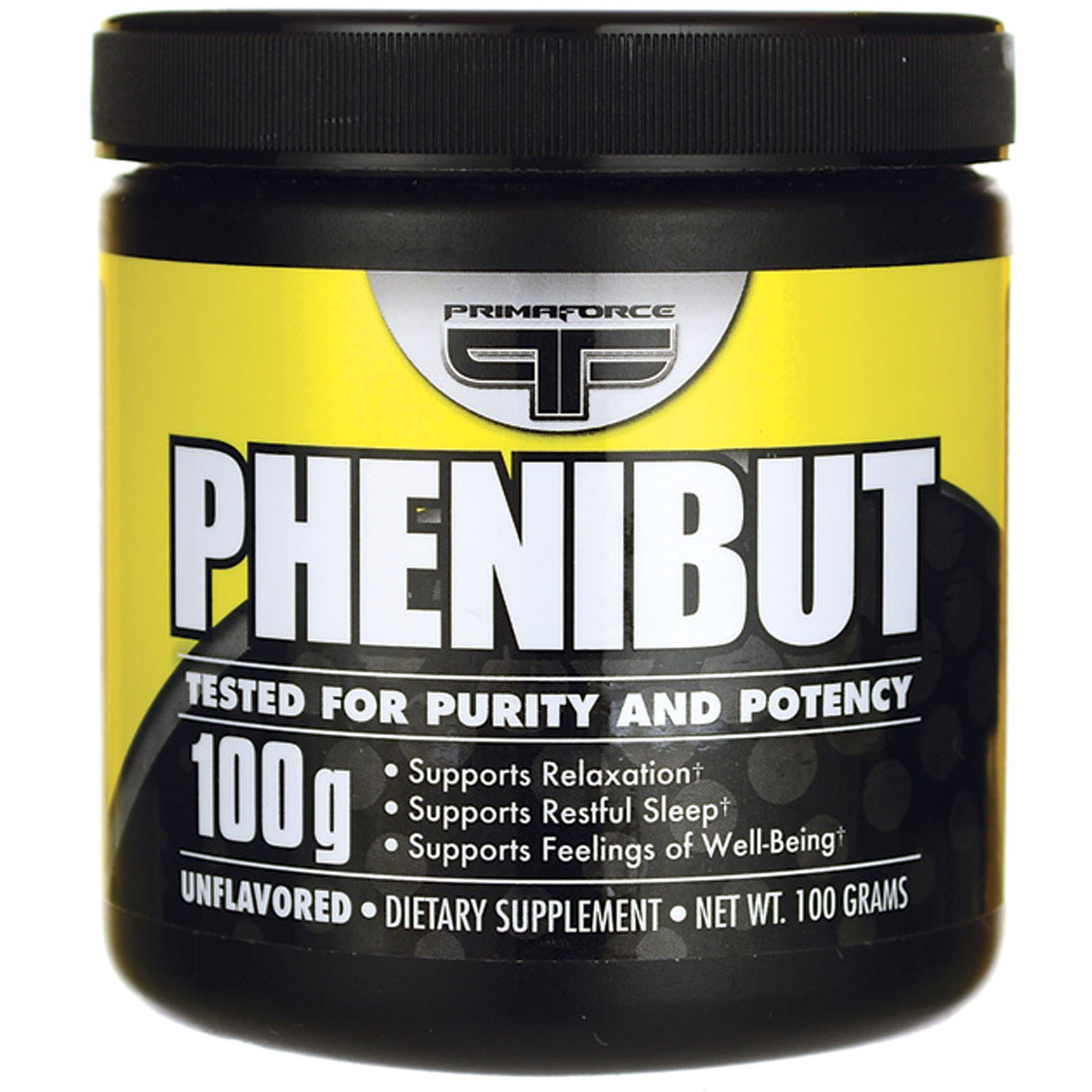 Primaforce, Phenibut, Unflavored, 100 g - iHerb com