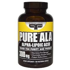 Primaforce, ピュアALA、300 mg、180植物性カプセル
