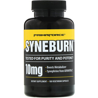Primaforce, Syneburn, 10 mg, 180 Vegetarian Capsules