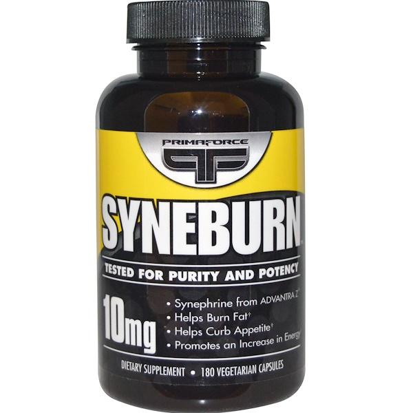 Primaforce, Syneburn, 10 mg, 180 Veggie Caps