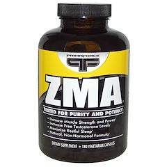 Primaforce, ZMA, 180 растительных капсул