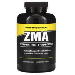 Primaforce, ZMA,180 粒素食膠囊