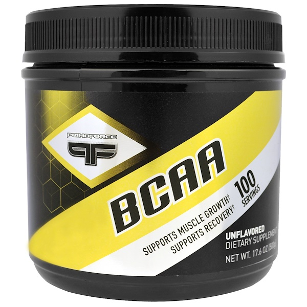 Primaforce, BCAA, Unflavored, 17.6 oz (500 g) (Discontinued Item)