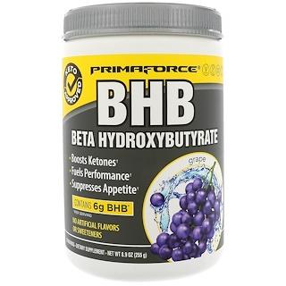 Primaforce, BHB, Beta Hydroxybutyrate, Grape, 8.9 oz (255 g)